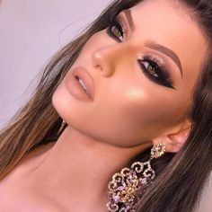 Likes, Comments - Maquiagem Glam Makeup Look, Sexy Makeup, Flawless Makeup, Gorgeous Makeup, Beauty Makeup, Hair Makeup, Makeup Bar, Makeup Eyes, Makeup Goals