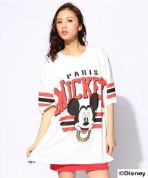 JOYRICH | Athletic Big Tee (Mickey)(Tシャツ・カットソー)