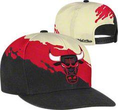 Chicago Bulls Mitchell  amp  Ness Cream Hardwood Classics  Paintbrush   Snapback Hat  29.99 http 2e7d40d98a7
