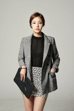 Feminine Dbl Button Jacket