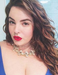 Plus-size model Tess Holliday was told for most of her life she wasn't the right size to model.