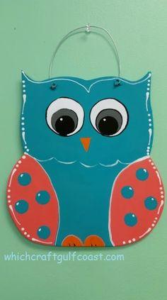 Kids wooden owl door hanger – Keep up with the times. We're here for you. Owl Door Hangers, Burlap Door Hangers, Painted Doors, Wooden Doors, Wooden Signs, Wood Owls, Owl Crafts, Wood Cutouts, Kids Wood