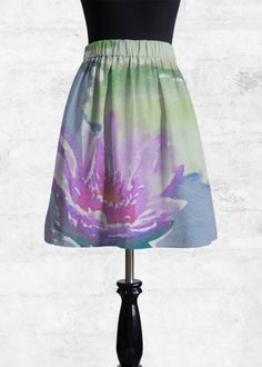 Cupro Skirt - Ocean Sky by VIDA VIDA Outlet Store For Sale Free Shipping New Arrival aOvyvImPZ