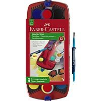 Faber-Castell Connector paint set of 12 Emboss Painting, Watercolor Paint Set, Kids Watercolor, Faber Castell, Holiday Gift Guide, Holiday Gifts, Palette, Washable Paint, Presents For Kids