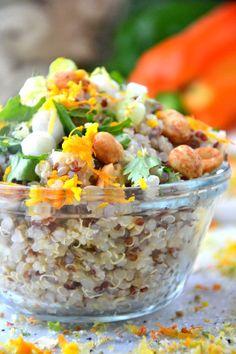 Gluten-Free Honey-Soaked Quinoa