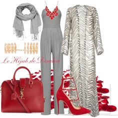 A fashion look from October 2015 featuring Marissa Webb jumpsuits, Christian Louboutin pumps and Yves Saint Laurent tote bags. Browse and shop related looks.