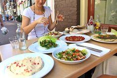Vegetarian in the Netherlands: Dabka Lebanese Restaurant in Amsterdam