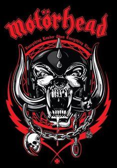 Motorhead shirt Everything Louder Than Everyone Else England rock band shirt Heavy metal Rock and roll Hard rock Speed metal Men's size XL Heavy Metal Bands, Heavy Metal Rock, Heavy Metal Music, Rock And Roll, Pop Rock, Thrash Metal, Rock Bands, Rock Band Logos, Lemmy Kilmister