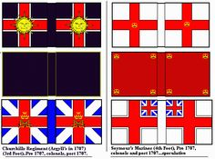 War of the Spanish Succession England and Scotland Classic Style Churchill's Regiment (Argyll's in 1797) (3rd Foot) Seymours Marines (4th Foot)