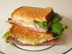 Grilled Havarti and Salami Sandwich