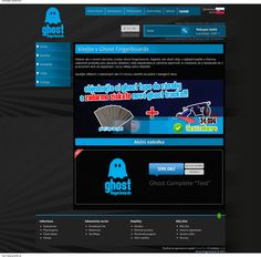 Design for my eshop powered by OpenCart. www.ghostfb.cz