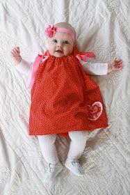 It's Good to be Queen: pillowcase dress tutorial
