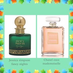 Jessica simpson fancy nights perfume smells like chanel coco mademoiselle perfume
