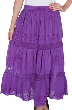 Considerate Ladakh Floral Lined Skirt Size 12 High Waisted Clothing, Shoes & Accessories Skirts