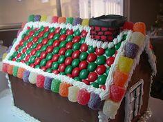 Χριστουγεννιατικα σπιτάκια από κέικ ! Gingerbread Houses, Cookies, Desserts, Christmas, Blog, Strawberry Shortcake House, Crack Crackers, Tailgate Desserts, Biscuits