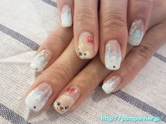 The nails of the bear