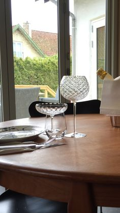Beautyful glasses designed by Danish Designer Anja Kjaer for Holmegasrd