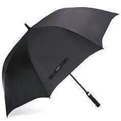 G4Free Automatic Open Golf Umbrella Extra Large 62 Inch Windproof Oversize Waterproof Stick Umbrellas for Men Women
