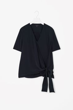 COS   Wrap-over top