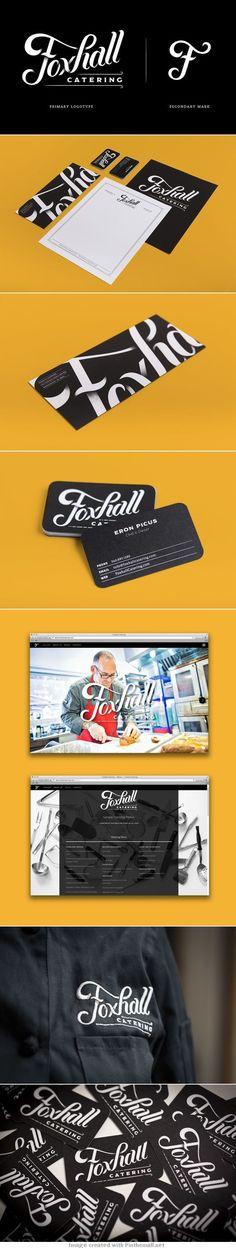 Foxhall Catering Branding on Behance   Fivestar Branding – Design and Branding Agency & Inspiration Gallery