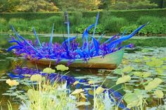 Dale Chihuly #art #glass #outdoor