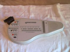 Suzuki Omnichord OM-84 system 2 Synthesizer & new AC adaptor plays well  #Suzuki