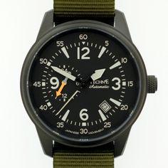 Techne Ref. 411.122 Goshawk PVD G10 NATO olive