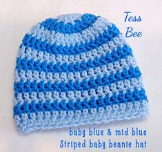 Baby Boy Hat Striped Baby Beanie footy baby Hat Baby Hat | Etsy Baby Boy Beanies, Baby Girl Hats, Newborn Boy Clothes, Newborn Baby Gifts, Cute Baby Gifts, Crochet Baby Hats, Handmade Baby, Baby Shower Gifts, Birth Gift