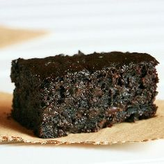 There really is such a thing as healthy Brownies... and they taste absolutely delicious!