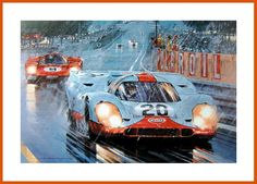 Le Mans 1970 Legend - Gulf Porsche 917