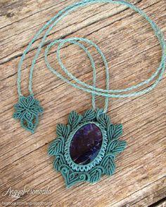 Available on etsy.com/shop/angelknots  #angyalcsomozda #micromacrame #macrame #necklace #macramenecklace #stone #gemstone #sodalite #handmade #jewelry #boho #bohemian #tribal #ethnic #festivaljewelry #tribaljewelry #fairy #gipsy #fashion #goa #psy #bohojewelry #hippie #fairynecklace