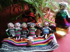muñeco quitapena de trapo y arcilla manulidad arcilla,tela,lana costura