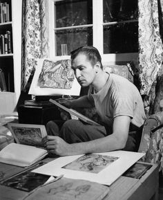 Vincent Price and his art collection