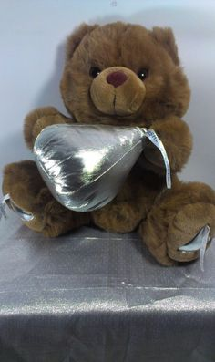 "Hershey Kisses Kiss Candy Jumbo Teddy Bear Plush Stuffed Animal Soft Toy 14""  #x"