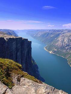Kjerag. Norway  Picture by Jack