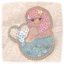 「ビーズ刺繍 かわいい」の画像検索結果