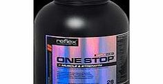 Reflex Relflex One Stop - Strawberry 2100g Reflex One Stop is the perfect product for the bodybuilder who just wants one product for their training needs. You no longer need to worry about which tub of protein powder to buy, the right creatine http://www.comparestoreprices.co.uk/vitamins-and-supplements/reflex-relflex-one-stop--strawberry-2100g.asp