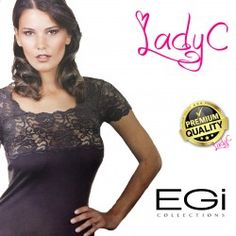 aca33c12be1718 egi intimo on line vendita. EGI maglia lana e microfibra donna manica ...