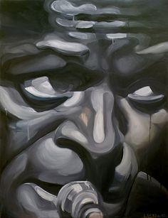 Miles Davis | Kind of blue - olio su tela 92x120 cm