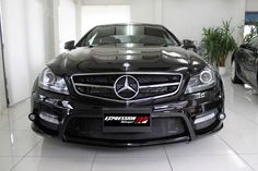 Expression Motorsport Offers a Black Series look to the Mercedes C63 AMG Coupe