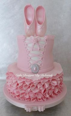 Ballet Tutu Cake: