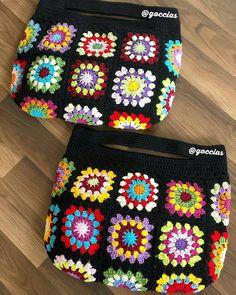 Crochet Diy, Crochet Tote, Crochet Handbags, Crochet Purses, Love Crochet, Crochet Flowers, Crochet Hooks, Crochet Pencil Case, Hello Kitty Crochet