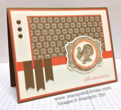 Harvest of Thanks, Apothecary Art, Stampin' Up!, Brian King, PP169