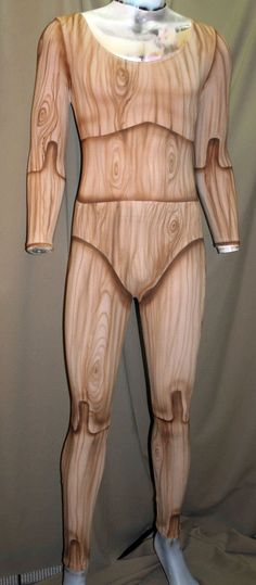 Wooden marionette body suit by beadborg on Etsy
