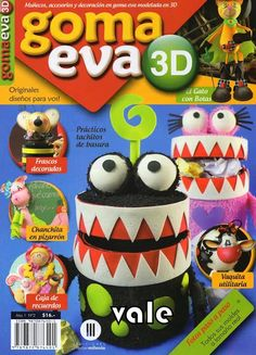 Revistas de manualidades gratis: Como hacer souvenirs en goma eva