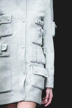 Detail at Alexander Wang F/W 2014
