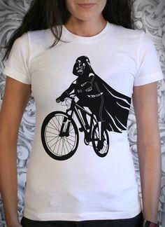 Darth Vader on a Bike t-shirt