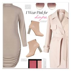 """Who do you wear pink for?"" by mycherryblossom ❤ liked on Polyvore featuring Miss Selfridge, Bobbi Brown Cosmetics and Acne Studios"