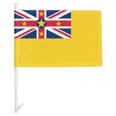 Niue National World Flag - unusual diy cyo customize special gift idea personalize