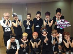 EXO cute.... And there is D.O being manly!